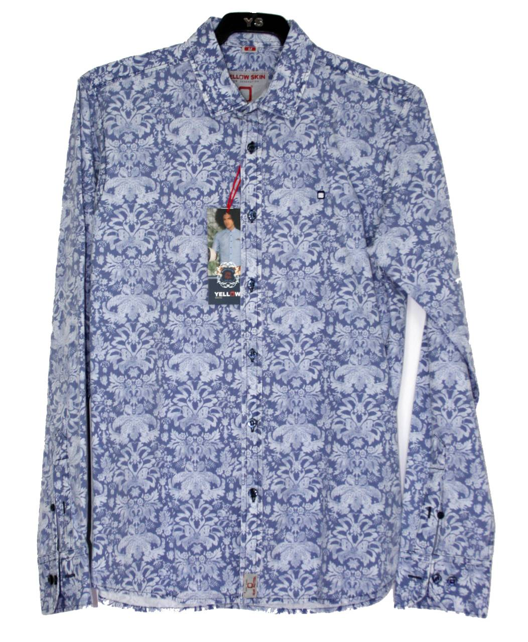 camisa-azul-manga-larga