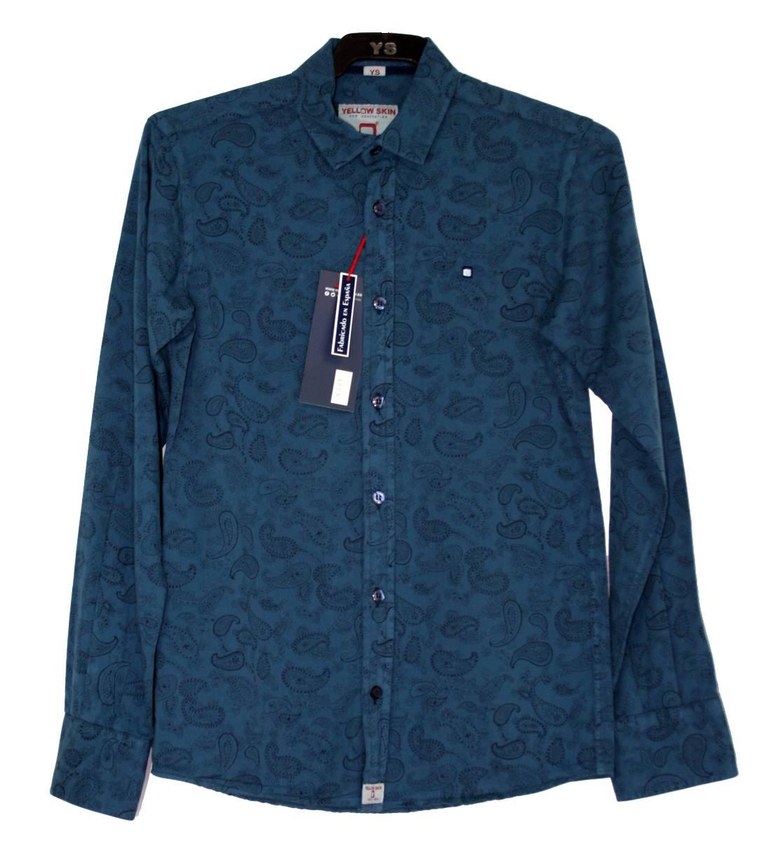 camisa-azul-negra-manga-larga