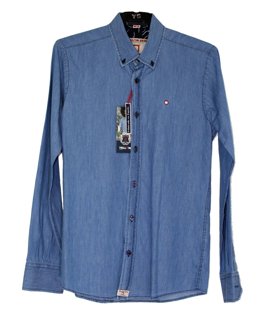 camisa-azul-vaquera-manga-larga
