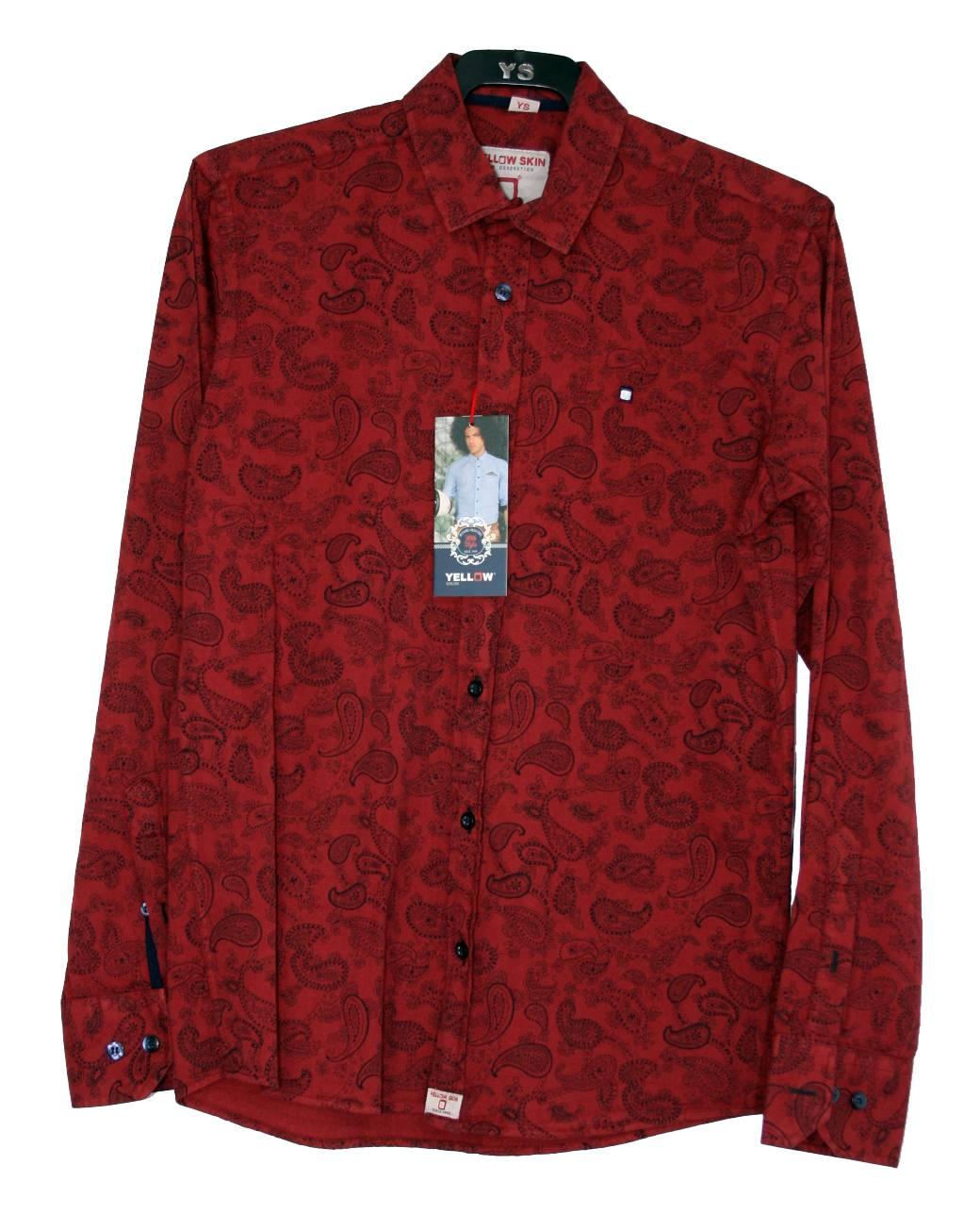 camisa-roja-negra-manga-larga