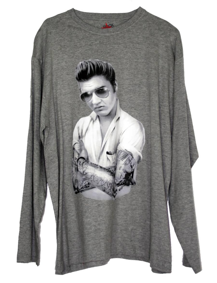 camiseta-gris-elvis