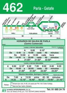 Línea 462 GETAFE-PARLA